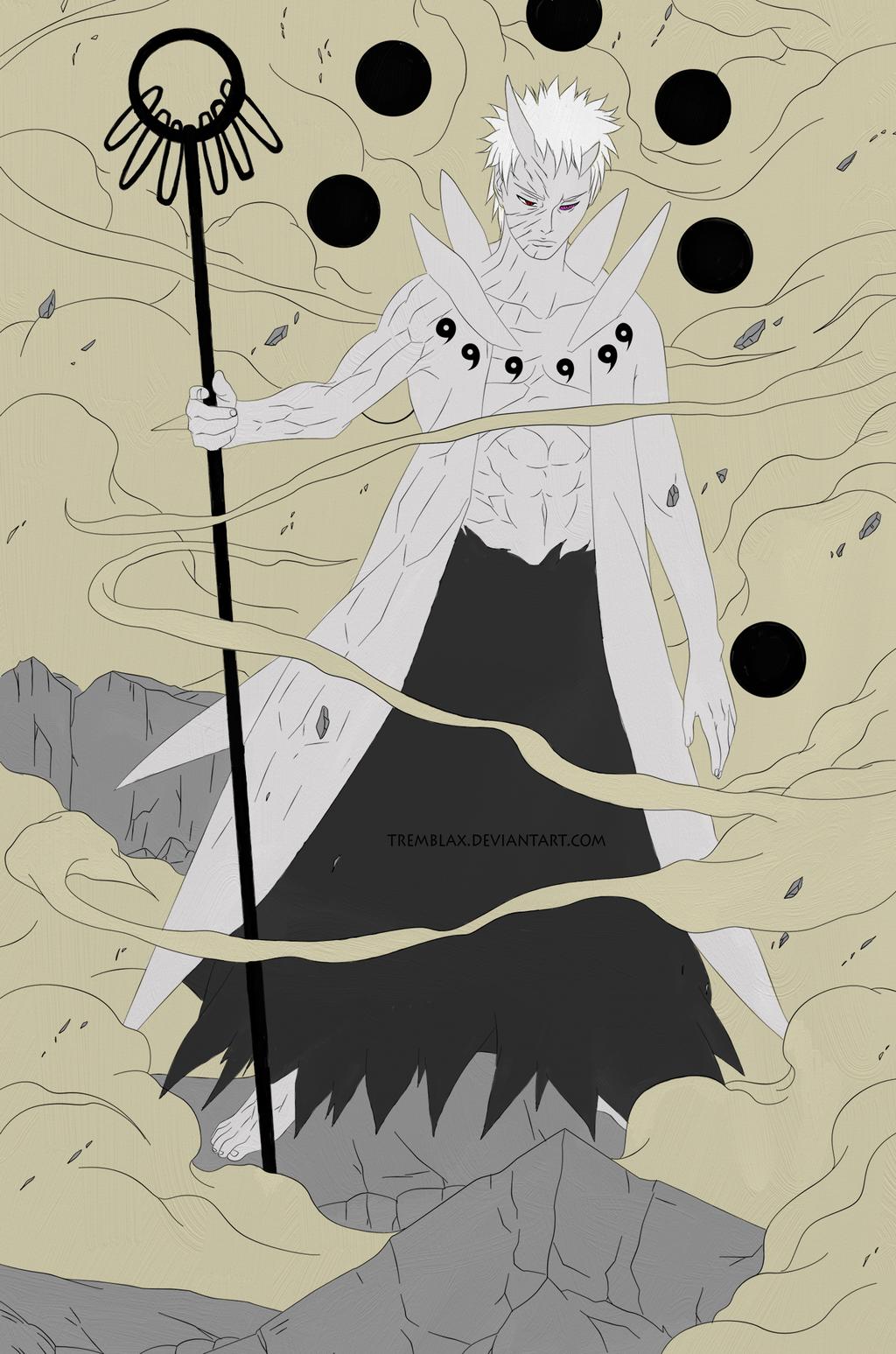 Obito Uchiha: Ten Tails Jinchuuriki by ...