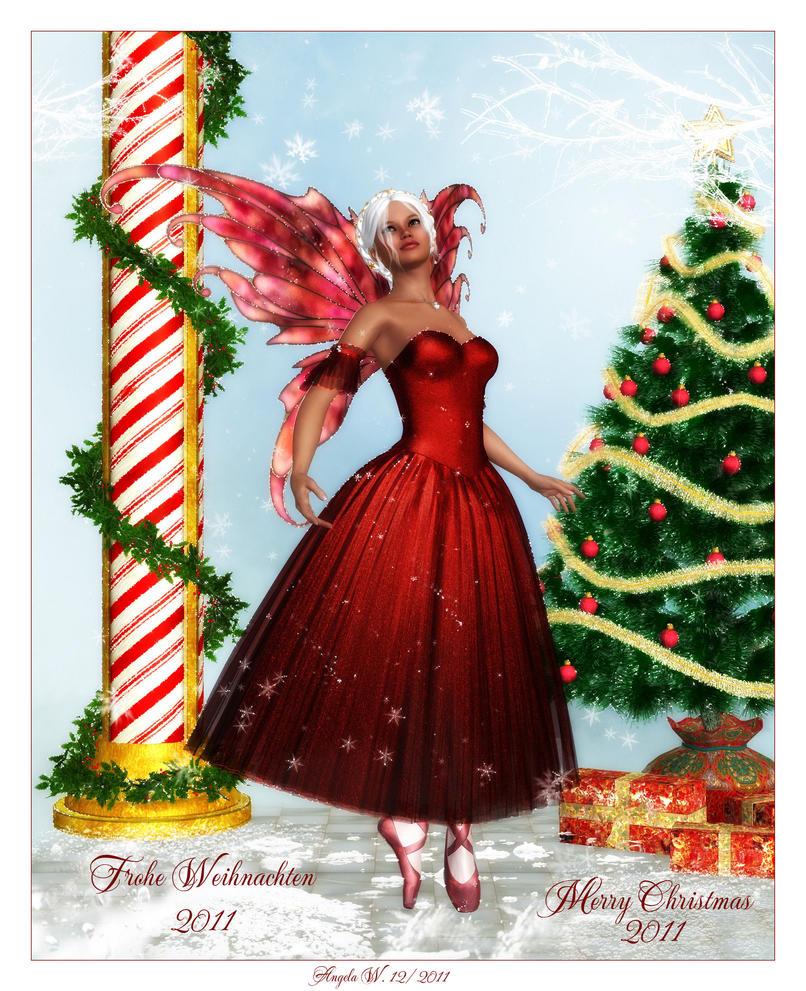 frohe weihnachten 2011 by angelasposerwelt on deviantart. Black Bedroom Furniture Sets. Home Design Ideas