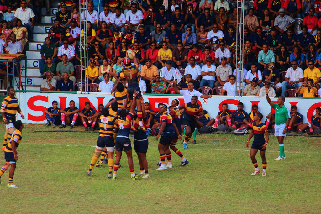 Kandy Vs. Royal  (Rugby Cup Final,Sri lanka) by BloodoftheTitan1