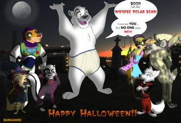 Inktober XXX- Halloween in Hollywild
