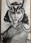 Loki portrait by EveZTWD