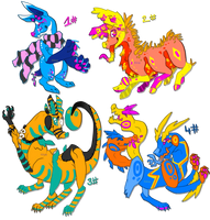 ACID ADOPTS:: POINT AUCTION// CLOSED by KiiWai