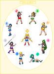 Sailor Senshi Sprites 2.0