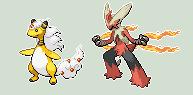 Mega Pokemon sprites by Akuma-Tsubasa