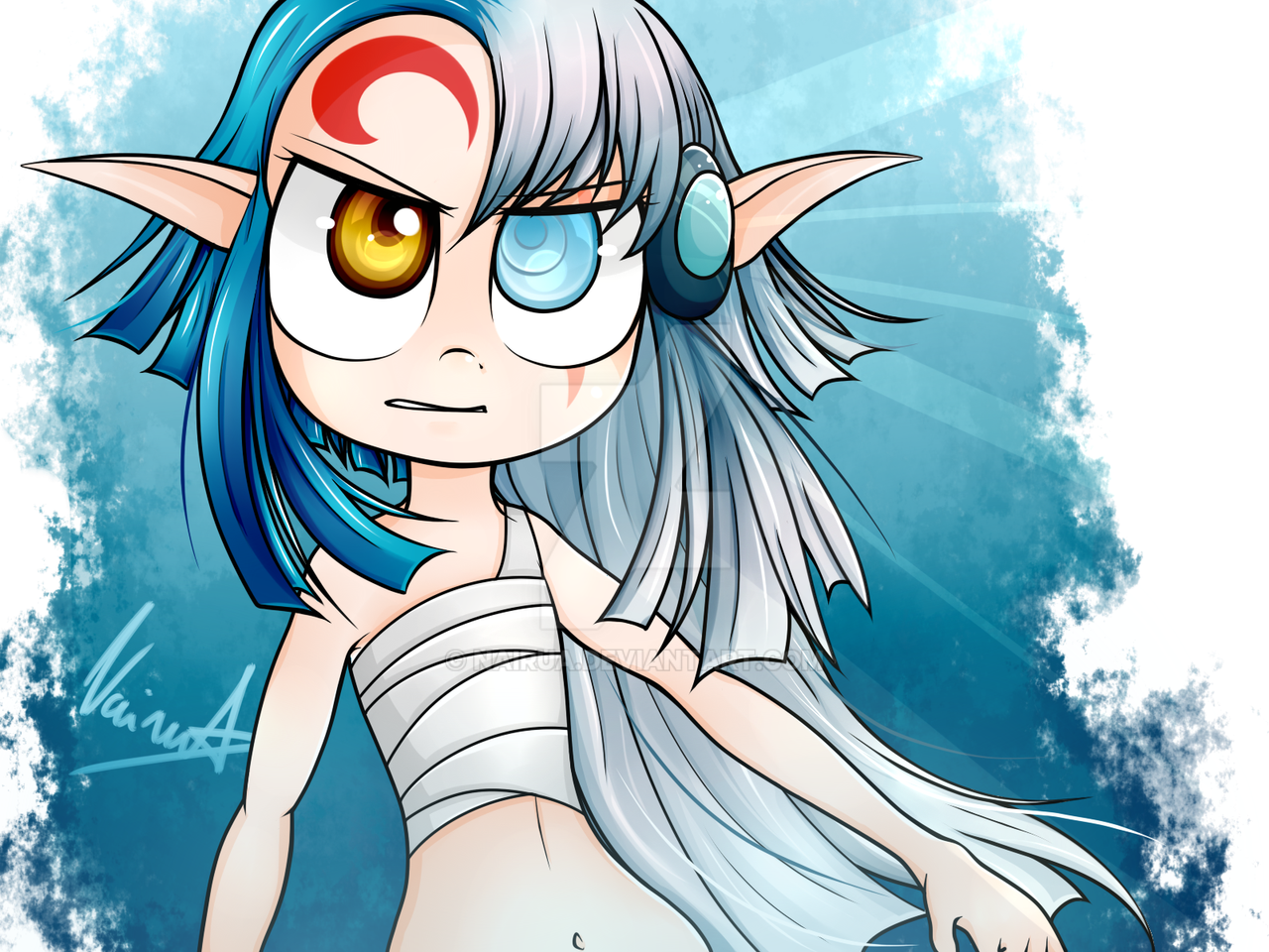 Dessins de Narumi Double_faced_elf__shimy_from_les_legendaires__by_nairua-da2x33r