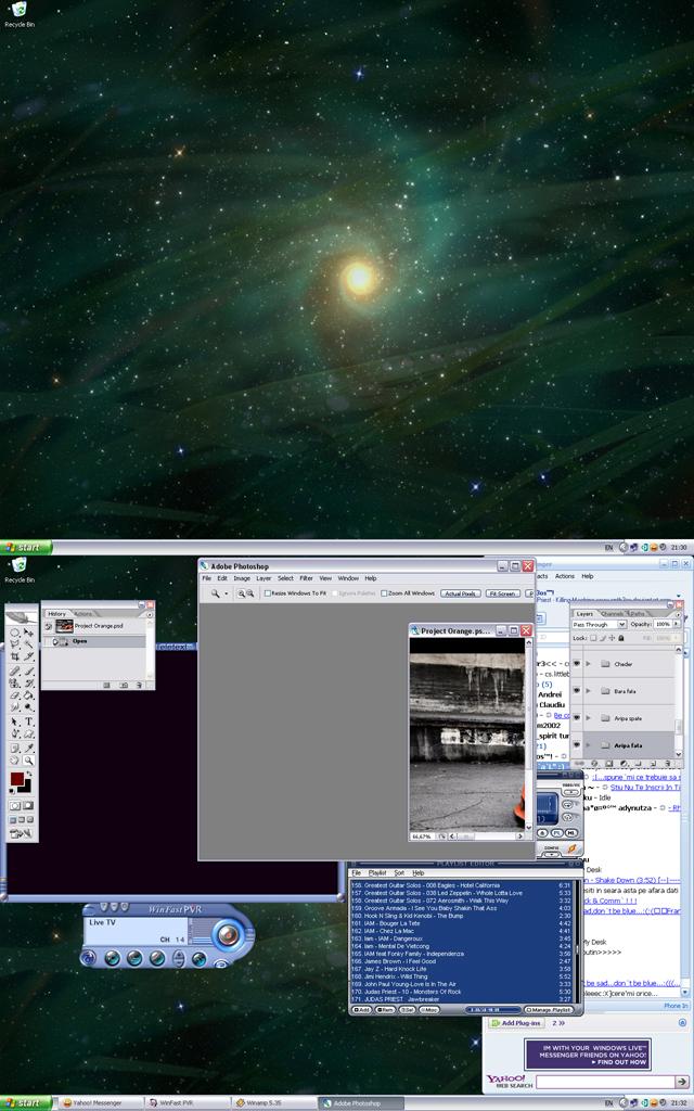 Desktop by enth3os