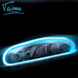TCC: Tripod Concept Car by enth3os