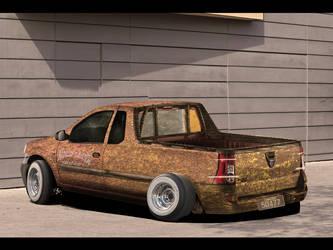 Dacia Logan 'Rat Golan'Back by enth3os
