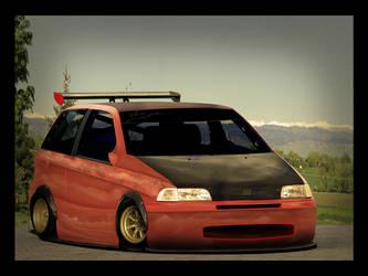 Fiat Punto MK1 by enth3os