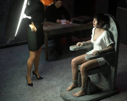 The Interrogation Room by D3Profundis