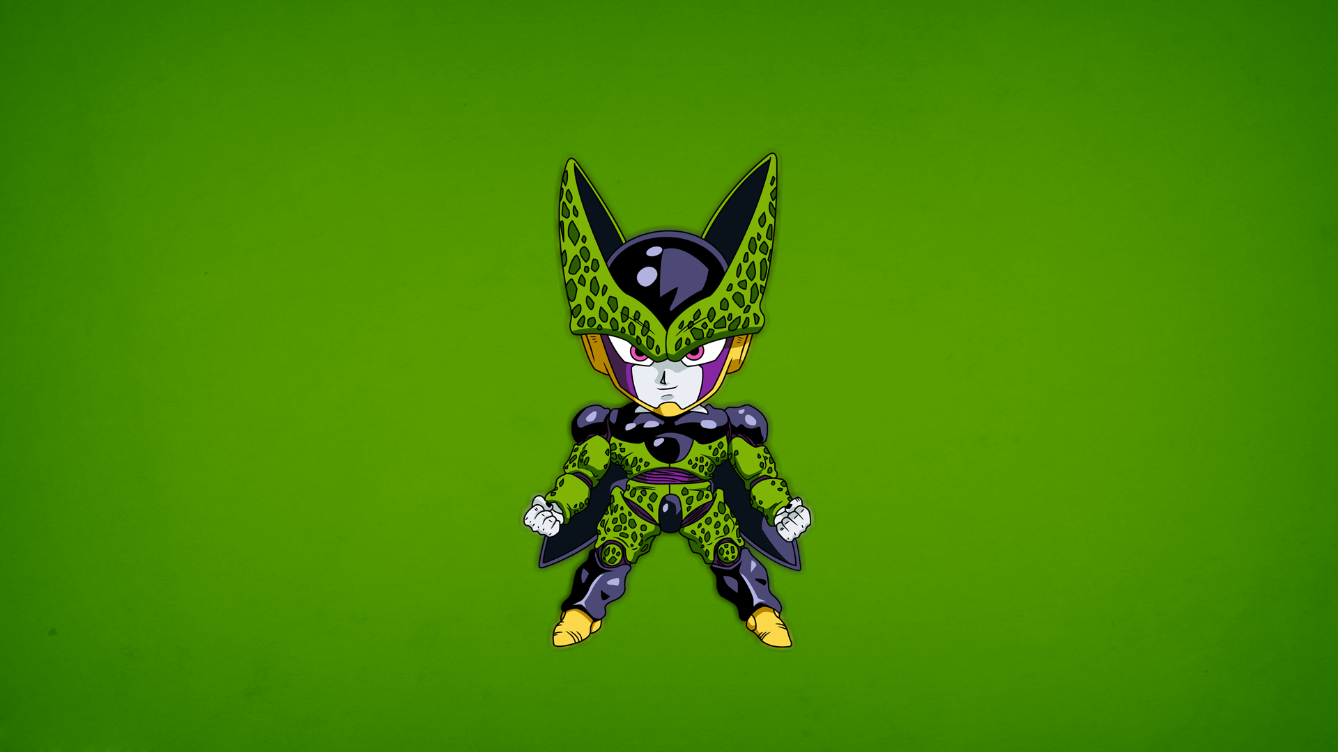 perfect cell wallpaper by zeozan on deviantart