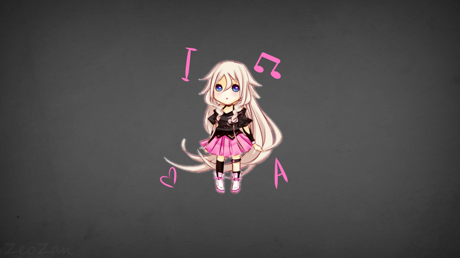 IA VOCALOID WALLPAPER by ZeoZan
