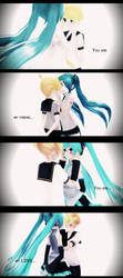 Before friends, after lovers. by Hikari-Farron
