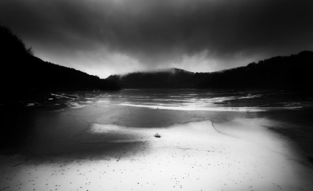 Frozen Lake by BranislavFabijanic