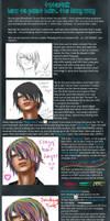 TUTORIAL: Painting hair