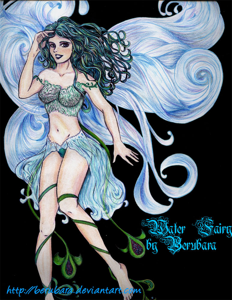 Water Fairy Pictures Water fairy by berubara