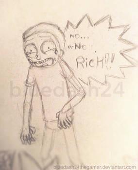 Traumatized Morty