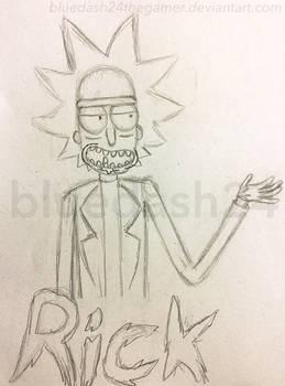 Rick Sanchez Sketch