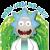 Emoji  Rick- Wubba Lubba dub dub!