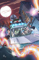 Ghostbusters 1 cover by luisdelgado