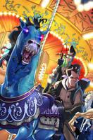 Ghostbusters 5 cover by luisdelgado