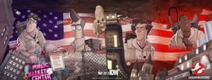 Ghostbusters: Haunted America by luisdelgado