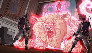 Ghostbusters 8 Come here kitty kitty!