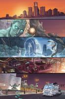 Ghostbusters 9 page 5 by luisdelgado