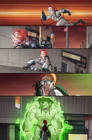 New Ghostbusters #3 page 12 by luisdelgado