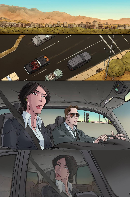 Ghostbusters #5 page 6 by luisdelgado