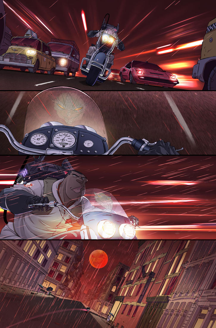 Ghostbusters #20 page 9 by luisdelgado