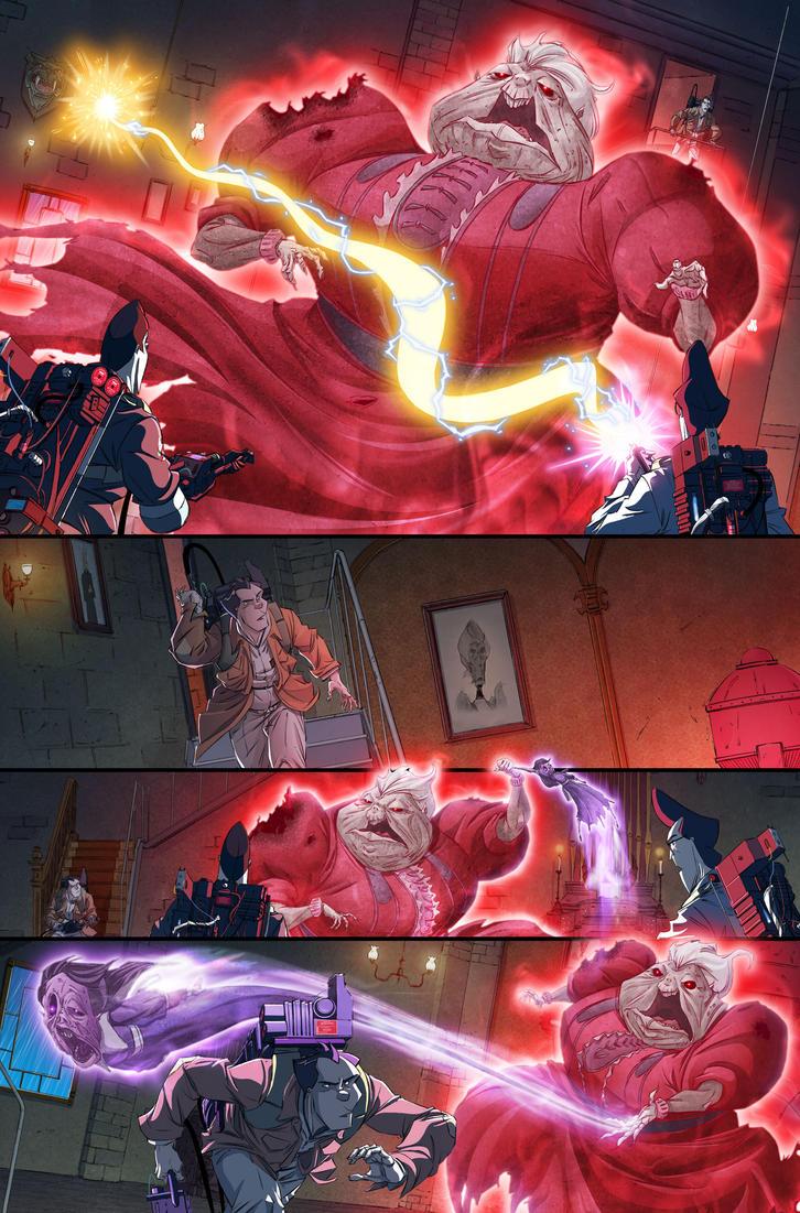 Ghostbusters #20 page 10 by luisdelgado