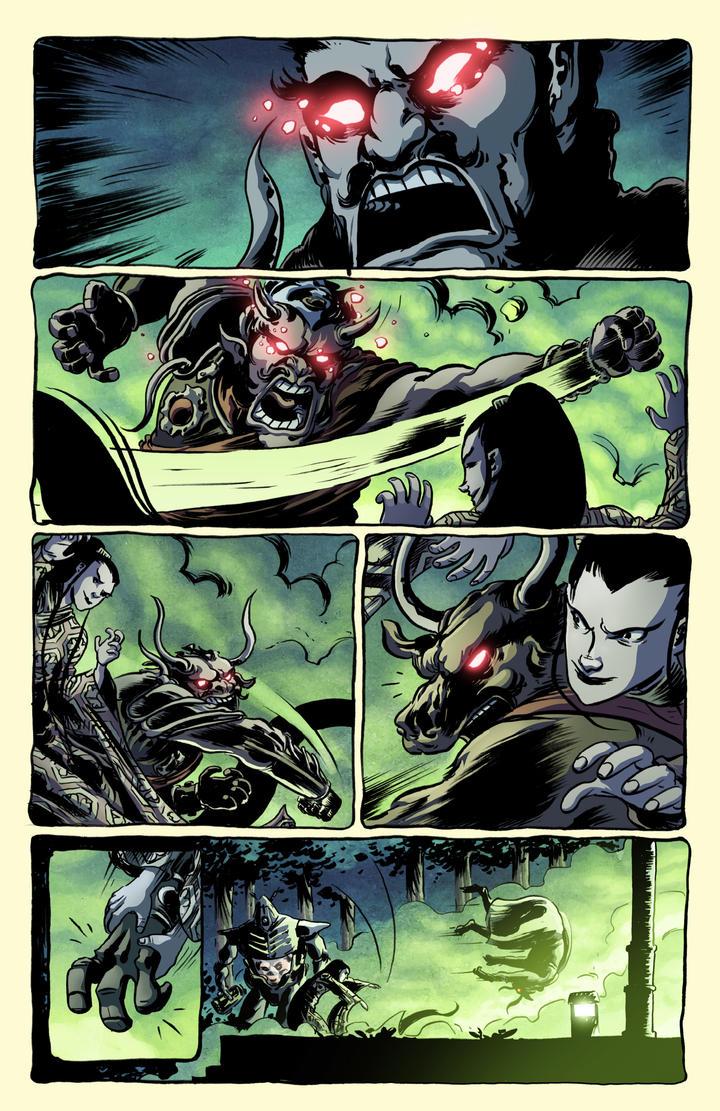 TMNT/GB #1 page 4 by luisdelgado
