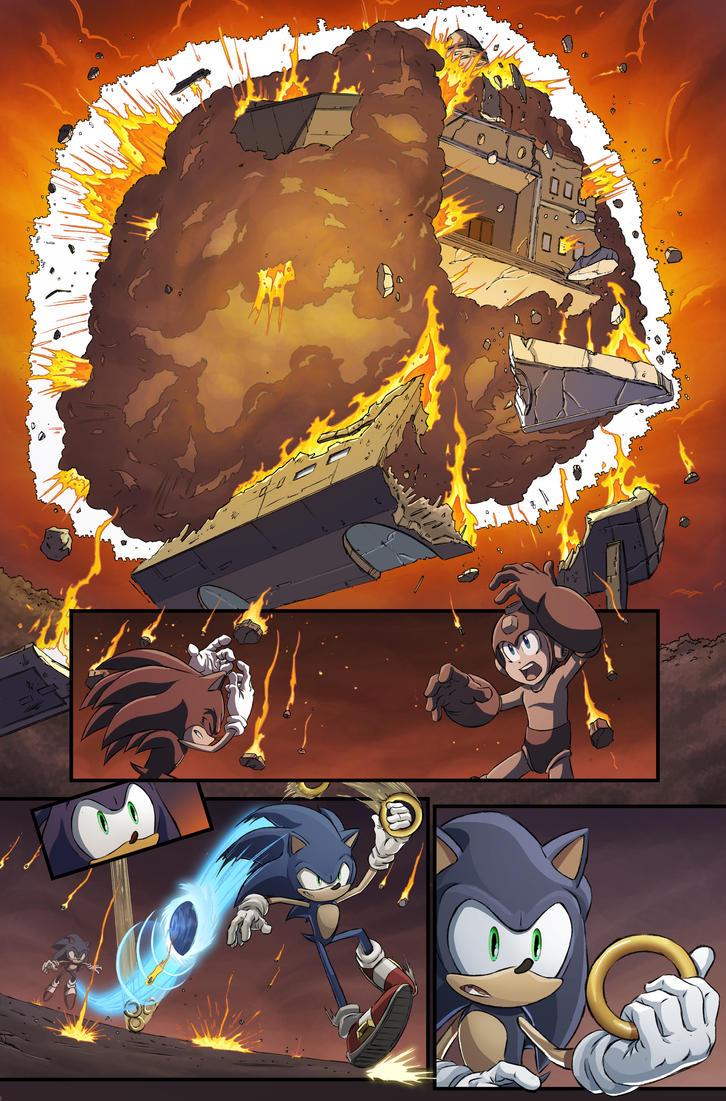 Mega Man #50 page14 by luisdelgado