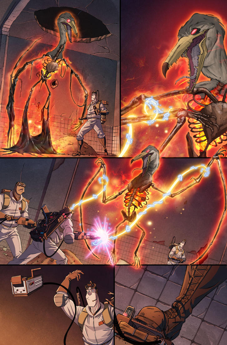 Ghostbusters International #3 page 16 by luisdelgado