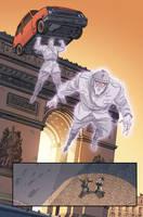 Ghostbusters International #4 page 3 by luisdelgado