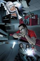 Ghostbusters International #6 page 6 by luisdelgado