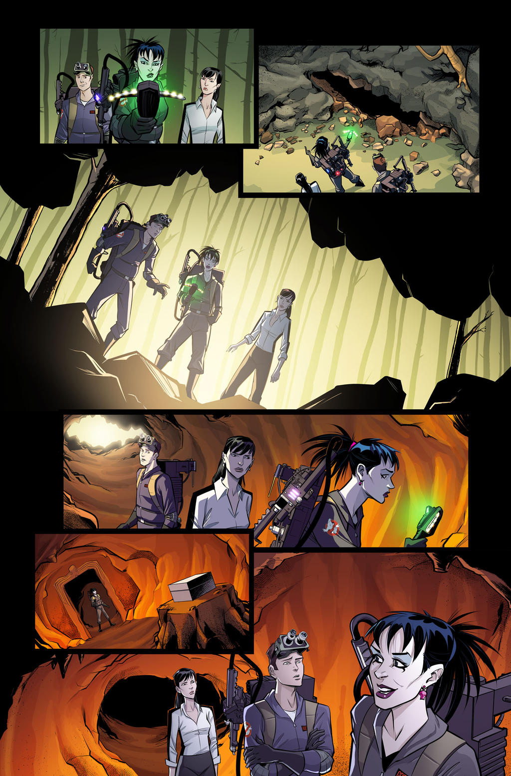 Ghostbusters International #9 page 16