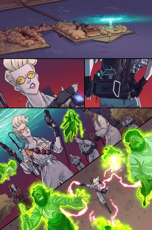 Ghostbusters 101 #4 page 8 by luisdelgado