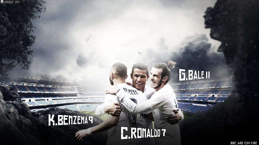 Benzema Ronaldo Bale BBC 2015 2016 By Anis19Zed
