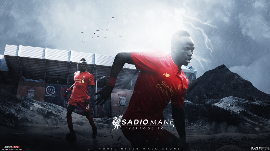 Sadio Mane 16/17 Liverpool ft Abbes17 by Anis19Zed