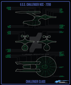 Challenger Class Blueprint by larundel
