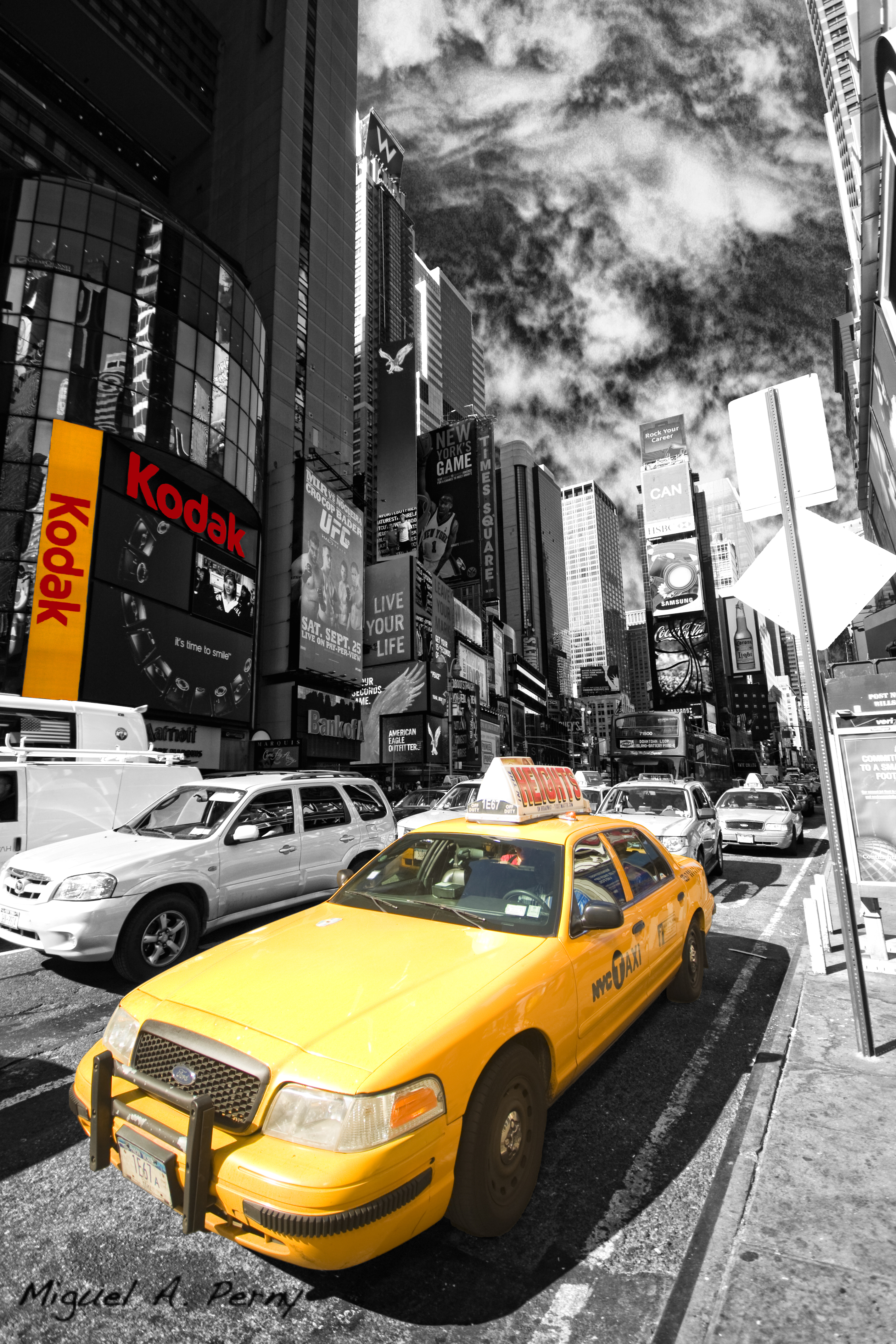 Yellow taxi by donpernycator on deviantart for Schuhschrank yellow cab