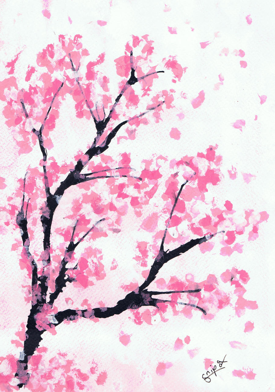 Sakura Tree By Ulurnaga On Deviantart