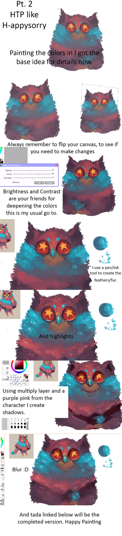 How to Paint like me Pt 2 by H-appysorry