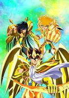 Gold Saint Omega by Jouny974