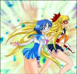 Sailor Mercury et Venus