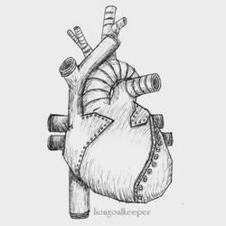 Tin Heart by liongoalkeeper