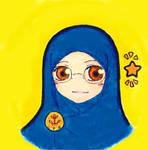 Muslimah2... Blue-Yellow