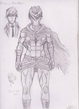 Batman (Young) Redesign
